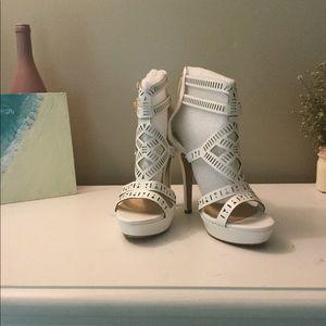 White Angel Styled Platforms